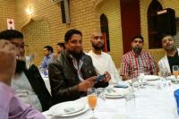 RFC Exec members at the Gala Dinner