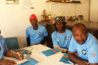 RFC Coaches in classroom